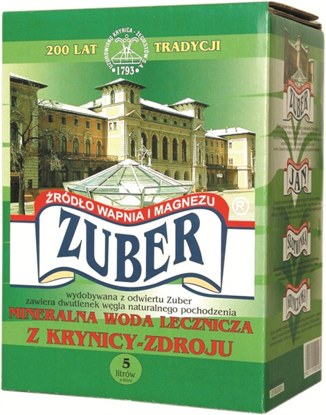 ZUBER 5L Bag in Box